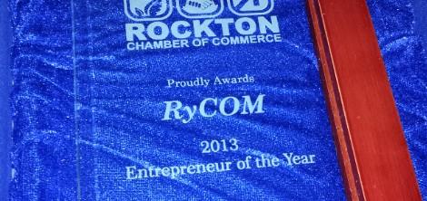 RyCOM Entrepreneur of the Year